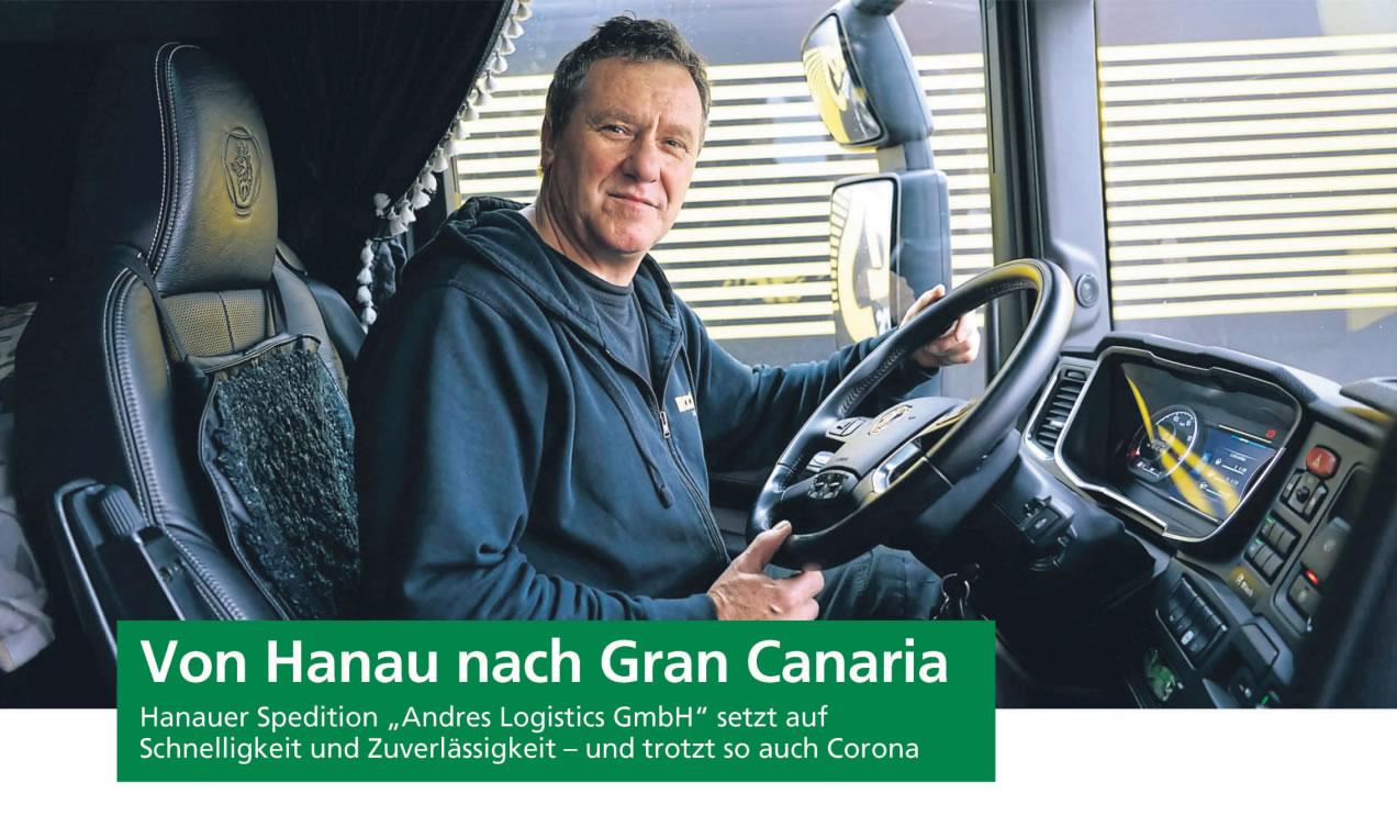 Von Hanau nach Gran Canaria